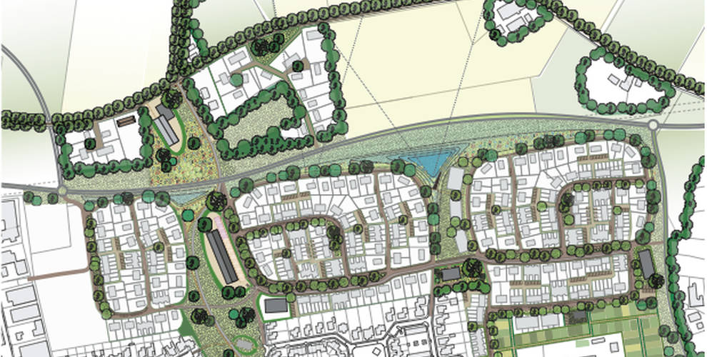 de akker stedenbouwkundig plan