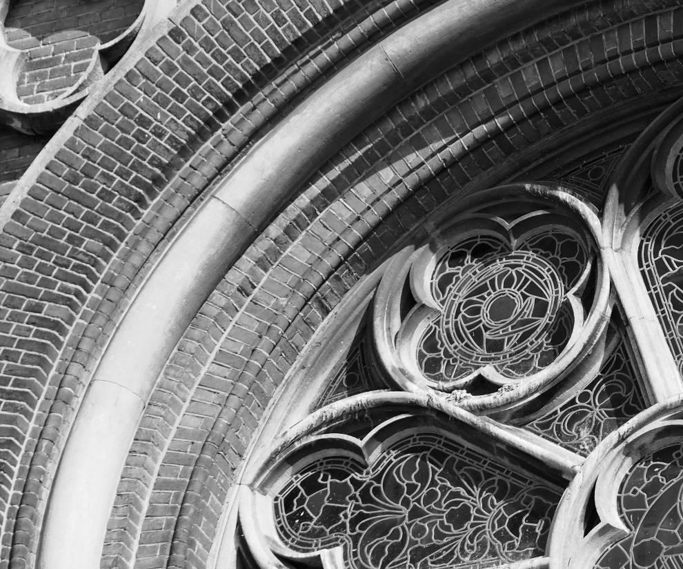 religieus vastgoed detail rozet